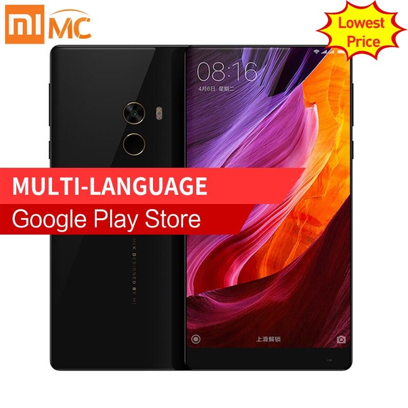 Lowest Price!Original Xiaomi Mi MIX Pro Mobile Phone 6GB 256GB ROM Snapdragon 821 6.4