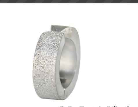 2 pc זהב שתי רק שחור titanium עגילי פלדה לא stud מגנט מוצץ אין אוזן חור עגול תכשיטי אופנה חדשים בציר פאנק מגניב