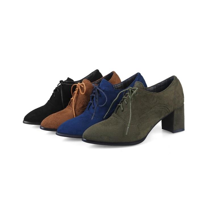 Dentelle Size34 automne Talons Slingbacks Printemps Hauts Noir Bout vert 1 Xianyiduo Plus Femmes Grand t6 2018 bleu De up Chaussures Pompes marron 48 Pointu xwapn7qfF7