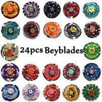 24 teile/satz Beyblades Metall Funsion 4D Ohne Launcher Kreisel Weihnachtsgeschenk Spielzeug Beyblade Spielzeug Für Verkauf # E
