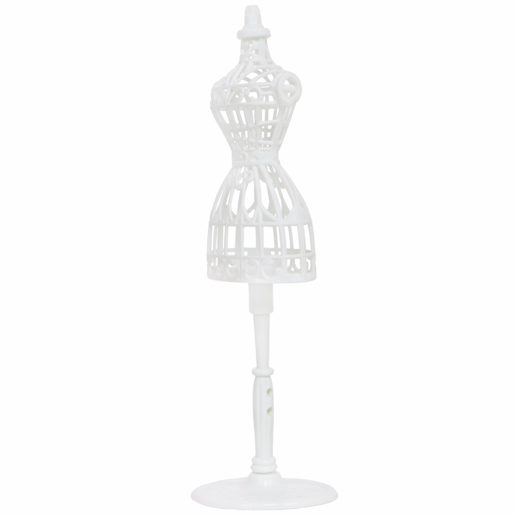 Stand Holder For American Girl Doll White Display Metal+Plastic Gift Suitable