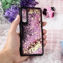 P10 P20 P30 Pro Case Coque sFor Huawei Mate 20 10 Lite Honor 9 P8 2017 P9 Mini G9 Soft Black Liquid Quicksand Cover