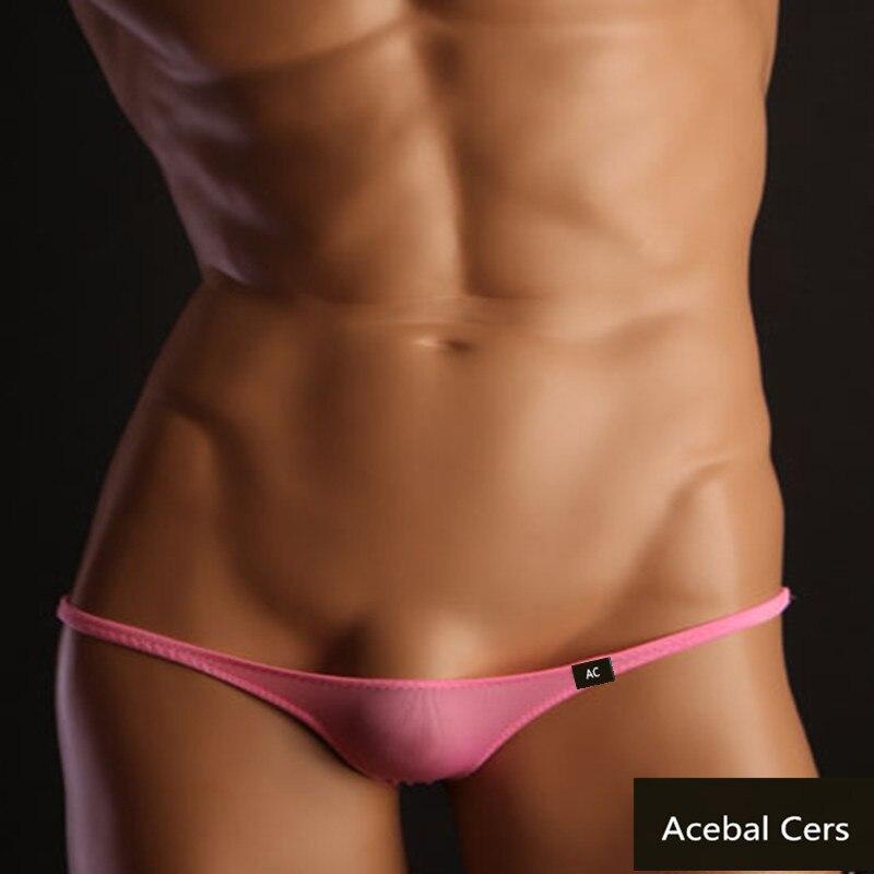 Acebal Cers 2019 Cueca  Transparent Mens Sexy Underwear  Gay Men Underwear Tm Mens Bikini Micro G Strings For  Men Sex Underwear