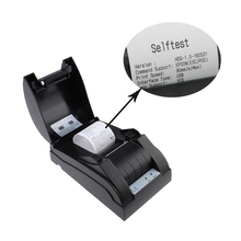 Free shipping Mini 58mm receipt printer Cheap China Ticket POS 58 thermal bill printer support serial print for restaurant