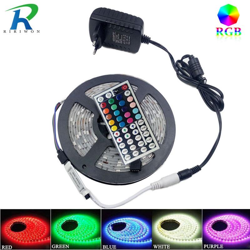 Tira de luz LED RGB SMD5050 2835 5 m 10 m 15 M No leds de cinta de - Iluminación LED - foto 2