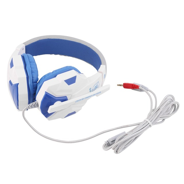 3.5mm Surround Stereo Gaming Headset Headband Headphone with Mic for PC 5