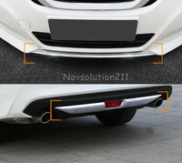 Front And Rear Bumper Cover Trim 2pcs For Nissan Teana Altima 2016 2017