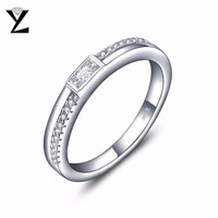 2016 New Arrivals Free Shipping 925 Sterling Silver Rings Simple Plain Smooth Silver Rings Jewelry Accessory