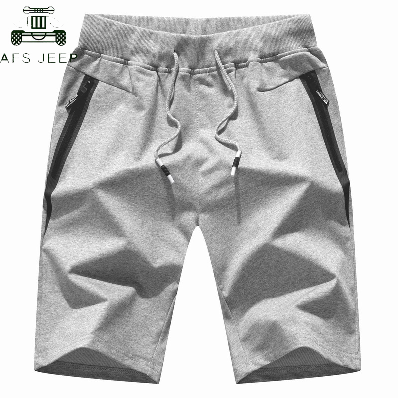 2019 Summer Cotton Elastic Waist Jogger Shorts Men Plus Size 5XL Casual Beach Shorts Male Board Shorts Homme Bermuda Masculino
