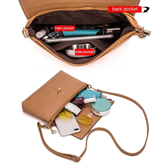Leather Women's Crossbody Messenger Bag