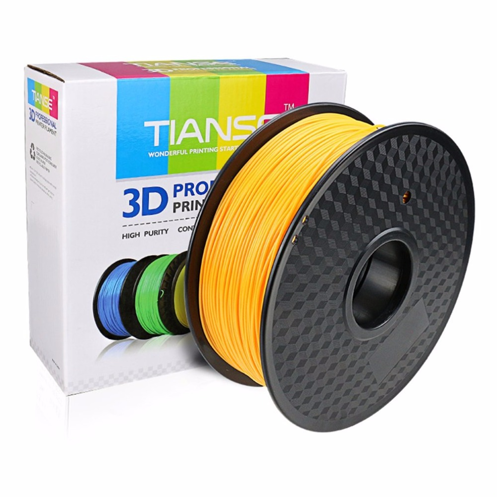 TIANSE 3D Supplies PLA 1.75mm 3D Printer Materials Print