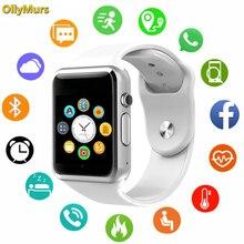 2019 New Smart Watch Men Clock Sync Notifier Support SIM TF Card Connectivity Apple iphone Android Phone Smartwatch Women GT08 стоимость