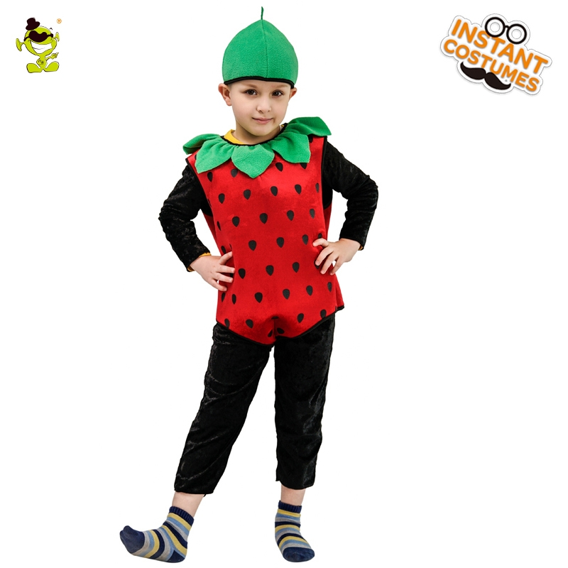 ece8bf45b Children Kids Strawberry Halloween Party Children's Day Cartoon Fruit Party  Costume on Aliexpress.com | Alibaba Group