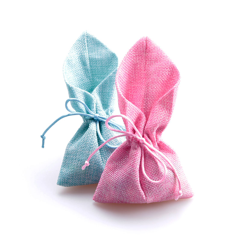 50pcs/lot Vintage Natural Burlap Hessia Gift Candy Bags Wedding Party Favor Pouches Jute Gift Bags 10x18cm Supply Wholesale