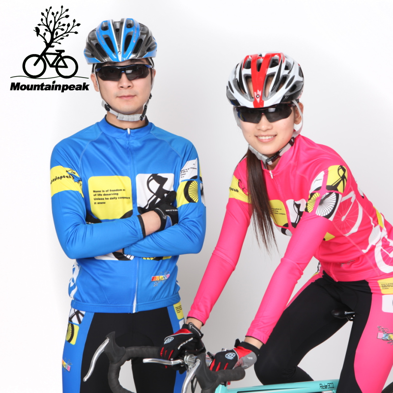 Mountainpeak Couple Riding Suit, Long Sleeved, Spring, Summer, New Variety, Riding Trousers, Mens and Womens Clothing