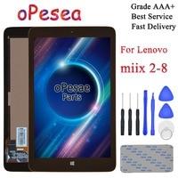 Opesea 레노버 miix2 miix 2 8 MIIX2 8 태블릿 pc lcd 디스플레이 패널 터치 스크린 디지타이저 유리 어셈블리 프레임|테블릿 LCD & 패널|   -