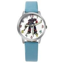 Children Watch Brand Fashion Casual watches Quartz Wristwatches Transformers Kids Clock Boys girls Students Wristwatch