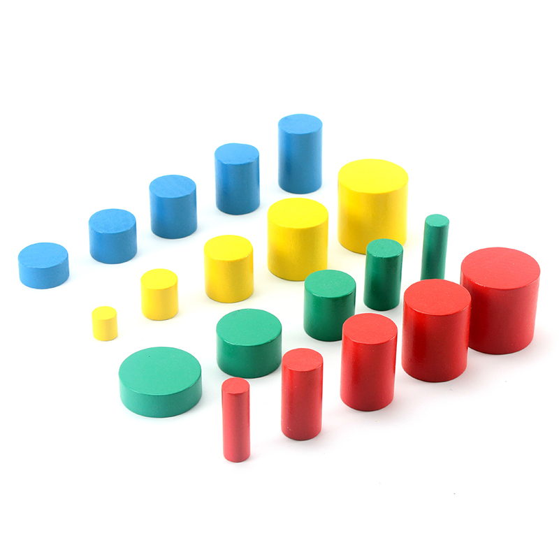 Home Objective Wooden Montessori Tray Locks Set Educational Toys For Children Montessori Preschool Sensorial Materials Juguetes Ml1344h