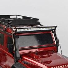 1/10 rc 슈퍼 밝은 금속 led 라이트 바 1/10 크롤러 traxxas Trx 4 trx4 업그레이드 액세서리