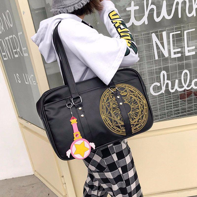 Unique D'aura Magique Sacs D'école Grands Sacs Fourre-Tout sac à bandoulière en cuir synthétique polyuréthane pour femmes Pour Voyage Dames sac à main décontracté Pour Vêtements
