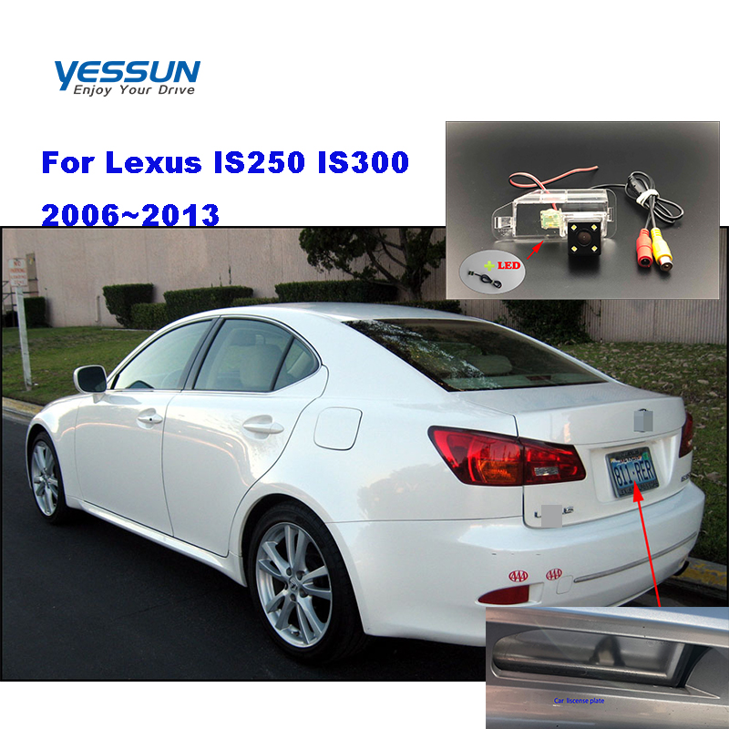 Yessun License plate camera For Lexus IS250 IS300 2006~2013 Car Rear View camera Parking Assistance(China)
