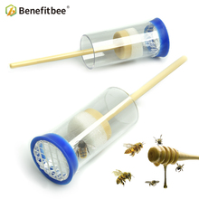Benefitbee 1pc Beekeeping Queen Bee Labeled Bottle Tools New Fertility King Mark Plastic Apiculture