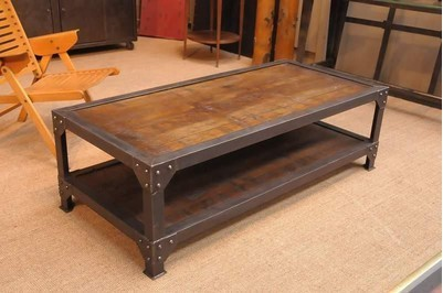 Loft American Country Style Dining Table Vintage Wood Dining Table