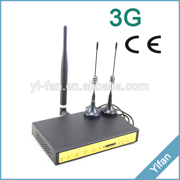 F3426 3g Industrial Cellular Wifi Router For ATM, Kiosk, Solar PV System