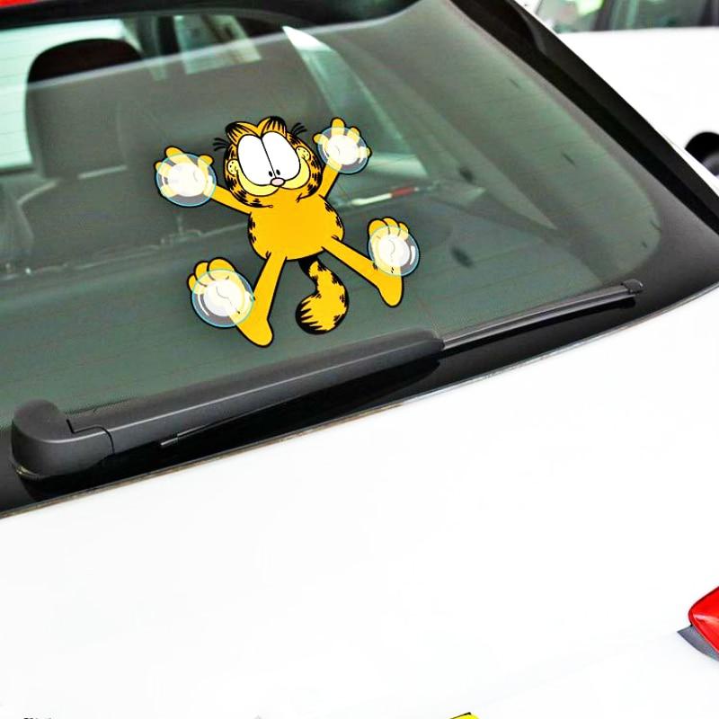 Garfield Stay Home Vinyl Bumper Sticker Decal 5