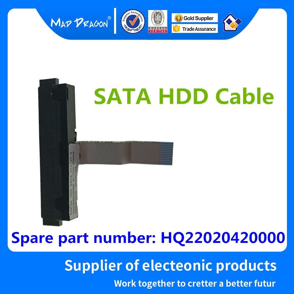 MAD DRAGON marque ordinateur portable nouveau câble HDD SATA HDD disque dur câble connecteur pour NX8106 HQ22020420000 0 CTNXL 12 broches