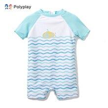 Горячая Распродажа, купальный костюм для малышей, купальный костюм с оборками для маленьких девочек, слитный купальный костюм