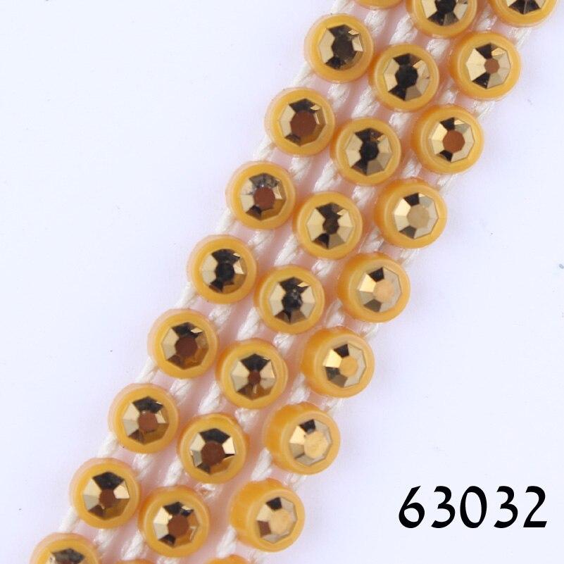 Taidian Plastic Rhinestone Banding SS6 For Native  Beaded Earring 10yards