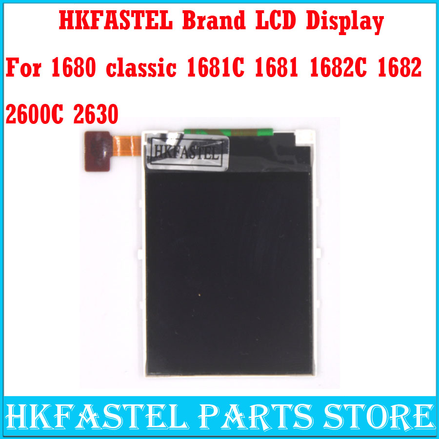 HKFASTEL Brand Original display for <font><b>Nokia</b></font> 1681 1682c 1680 2600C 2630 2760 <font><b>1650</b></font> Mobile Phone LCD screen repair replacement parts image