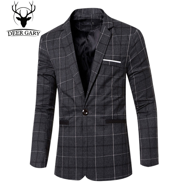 2016 Autumn Winter Men 39 S Blazers European Style Fashion
