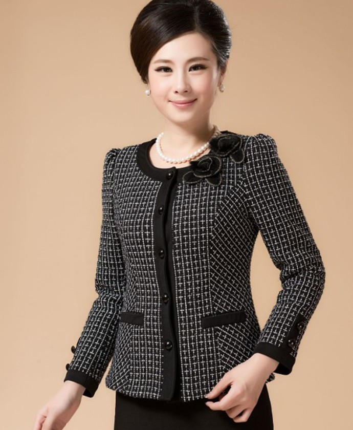 Popular Short Coat Black-Buy Cheap Short Coat Black lots from ...