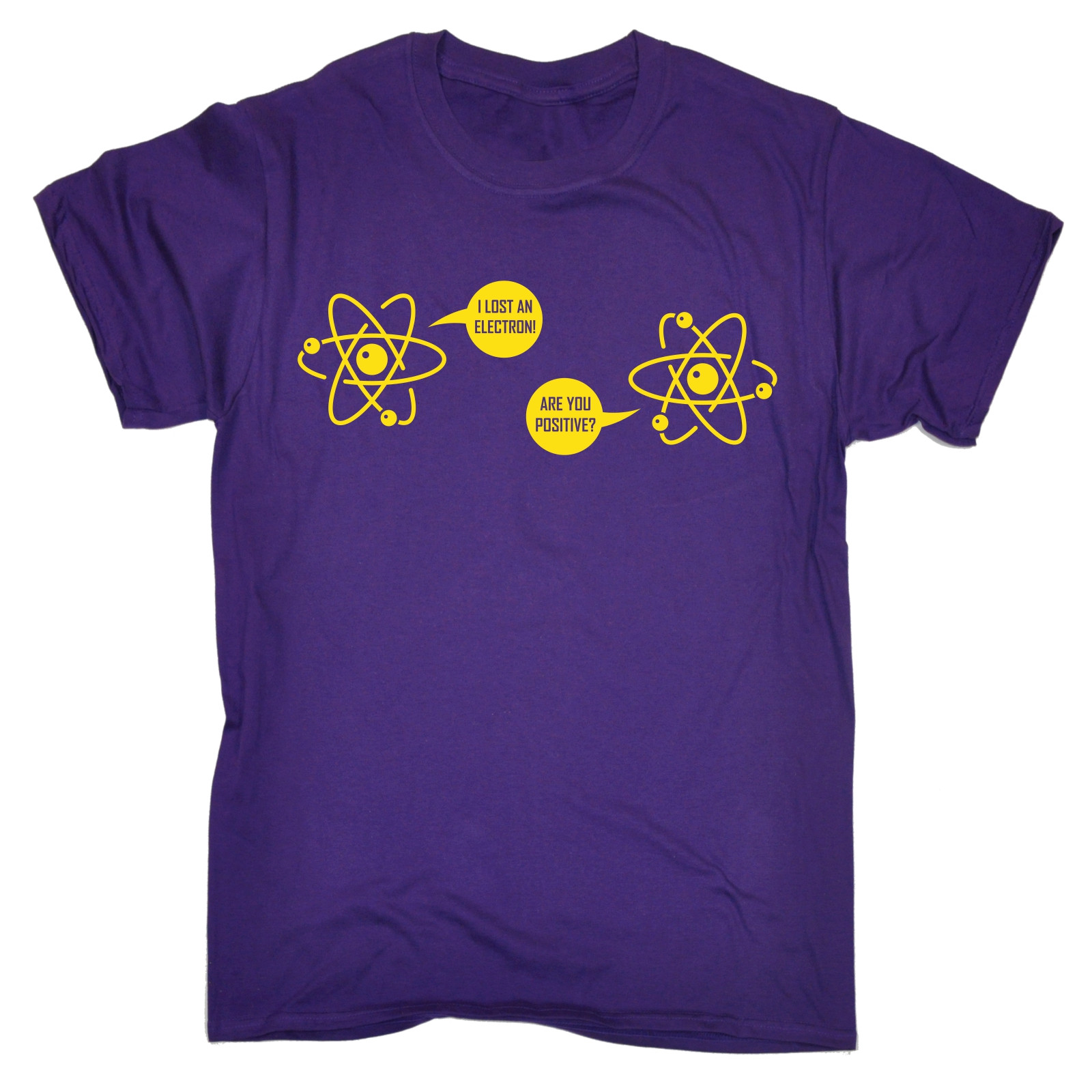 4325ce4f2 I Lost An Electron Are You Positive T SHIRT Science Geek Funny Gift Fathers  Day Round Neck T Shirt Summer The New Fashion-in T-Shirts from Men's  Clothing on ...