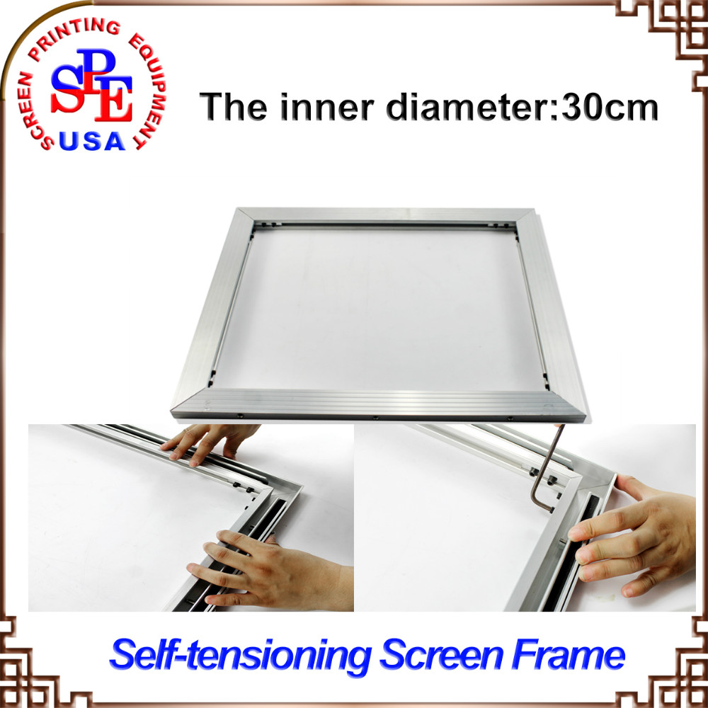 ФОТО 2015 type self-tensioning screen frame easy operate high quality inner size 30*30cm no need strecter