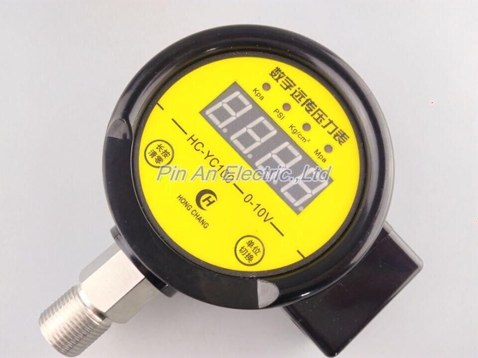 DC12V-24v 0-25MPA Digital remote pressure gauge constant pressure water supply Digital remote pressure gauge