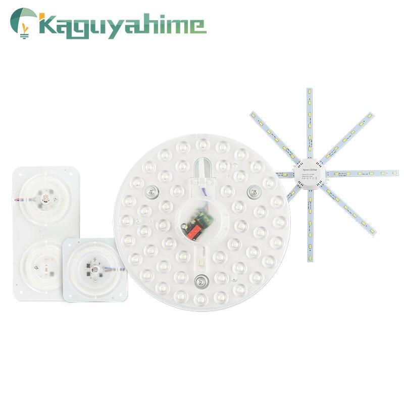 Kaguyahime LED Module Mini/Octopus/Round Panel Light Lamp Bulb Tube 220V 12W 18W 24W Indoor Light Source Spotlight Ceiling Light