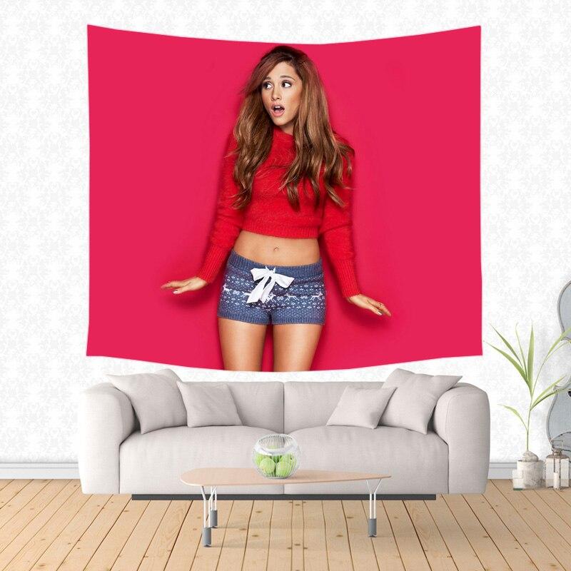 Ariana Grande Muster Tapisserie Dekorative Wand Hängen Teppich