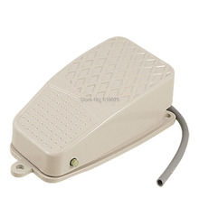 MDFS-002foot switch AC 250V 10A SPDT NO NC Metal Nonslip Momentary Power Treadle Foot Pedal Switch