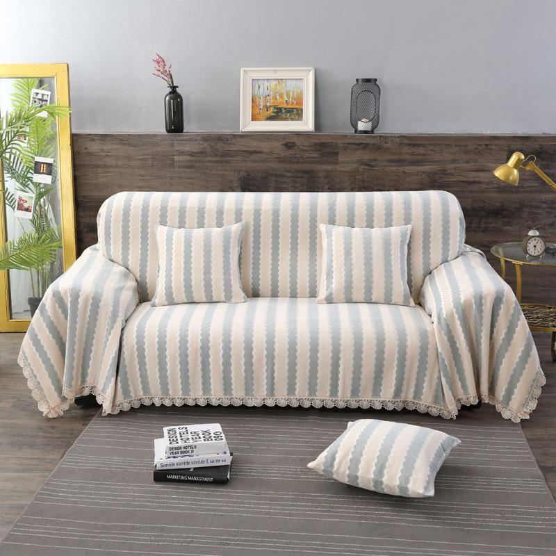 Slipcover Chenille Jacquard Sofa Covers Eurocovers For Sofa Thicken Dust Cover Simple Style Lace Sofa Towel 1/2/3/4-seater 2019