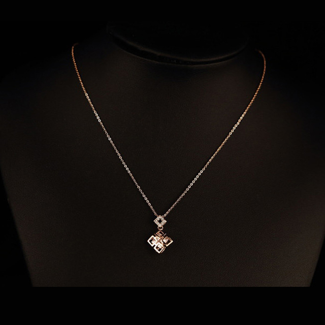 gold womens s emporium product necklace women pure exclusive products thin image