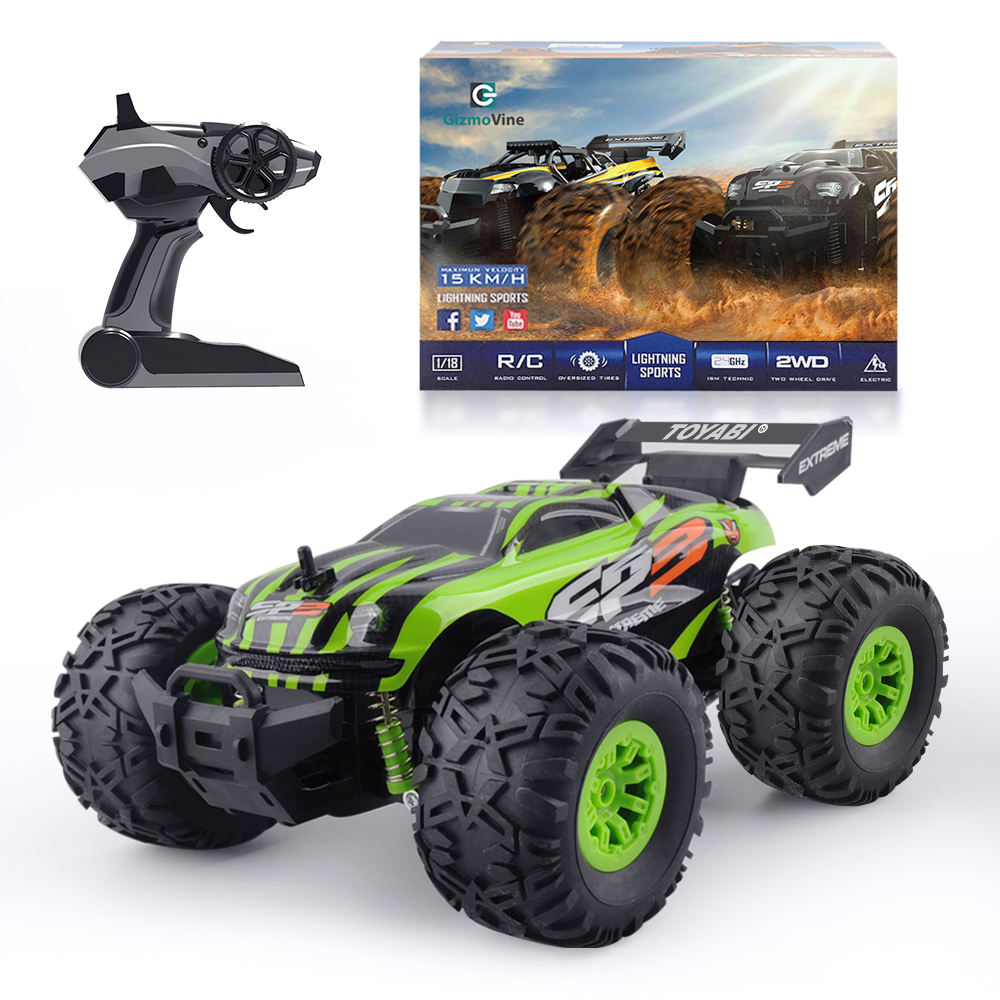 1/18 RC Car 2.4G Monster Truck Car Remote Control Toys Controller Model Off-Road Vehicle Truck Toy For Kids toys for boys Gifts
