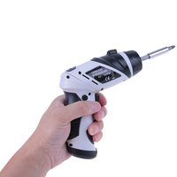 6V Cordless Wireless Electric Screwdriver Mini Electric Drill Battery Operated Household Tools Set With Screw Head