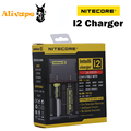 Original Nitecore New i2 Intelligent Charger Fit for 18350, 18490, 18500,18650 25500, 26500, 26650 Battery
