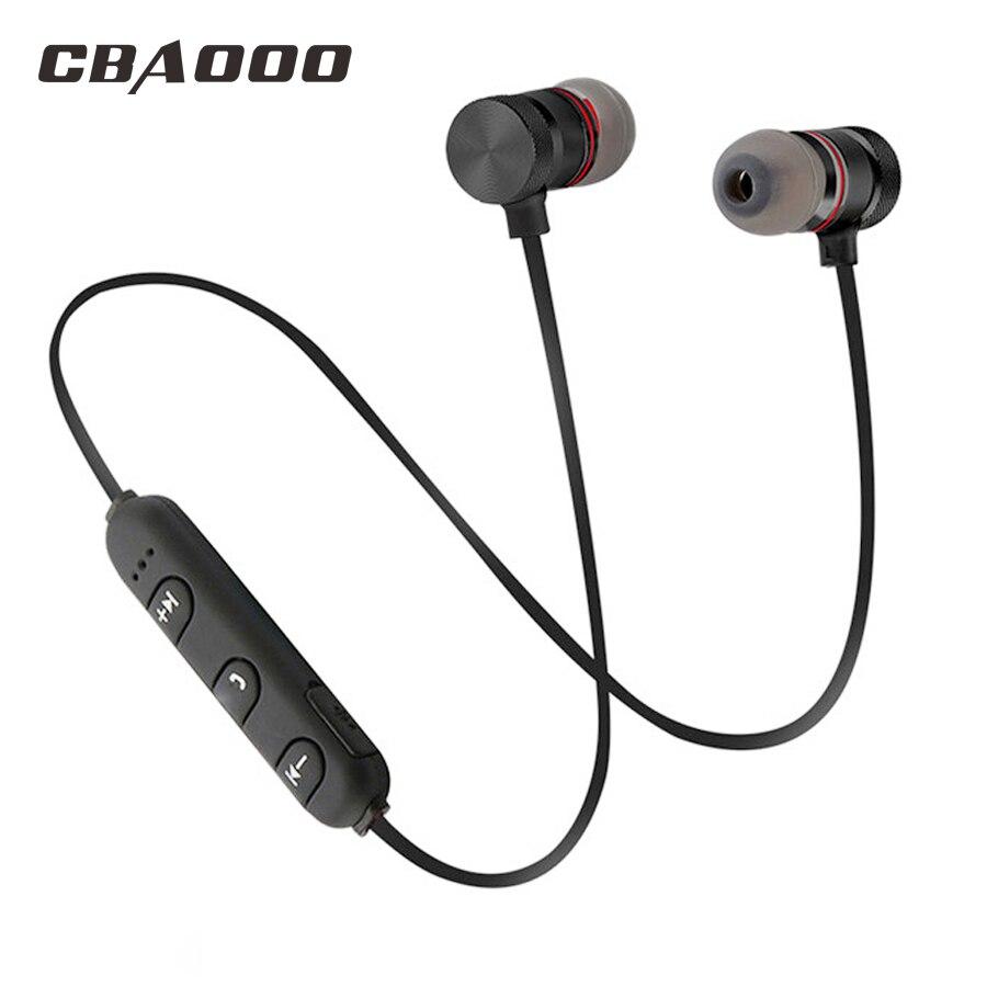 Basse Bluetooth Écouteur Sans Fil Casque Casque Avec Micro Stéréo Magnétique Blutooth Écouteurs pour Mobile Téléphone Sport