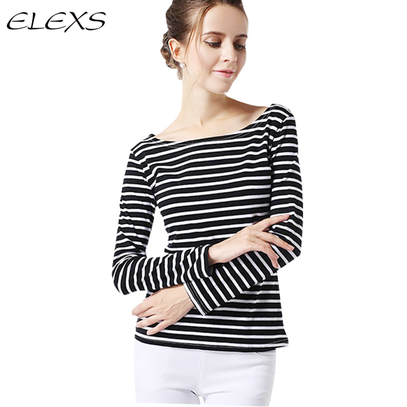 Elexs 2015 high quality new casual long sleeve t shirts for Good quality long sleeve t shirts