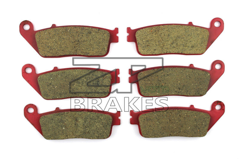 Brake Pads Ceramic For BMW C 600 Sport 2012-2014 Front + Rear OEM New High Quality ZPMOTO maxi front slit crushed velvet tank dress