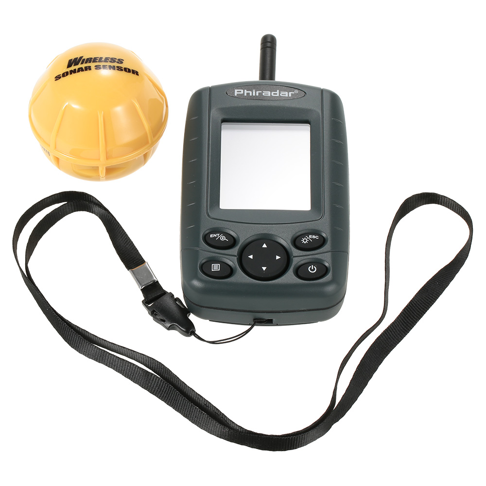 New 36m waterproof portable sonar lcd fish finders fishing for Cheap fish finders for sale